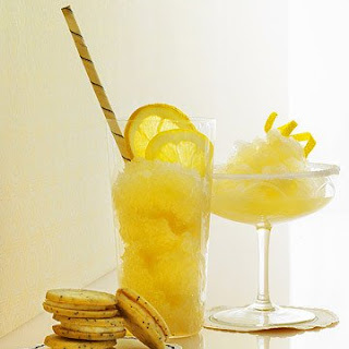 Frozen Ginger Lemon Drop