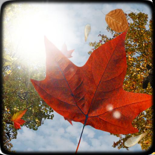 Falling Leaves Free Wallpaper LOGO-APP點子