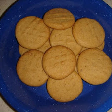 Peanut Butter Cookies (Low Cal, Low Fat, High Taste!)