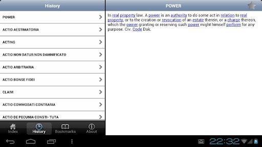 【免費書籍App】Law Dictionary-APP點子