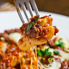 Gnocchi Poutine with Short Rib Ragu and Gremolatta