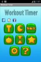 Screenshot of Workout Timer + Fat Calculator