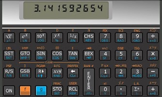 Screenshot of Andro11C calculator