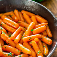 Brandy-Glazed Carrots