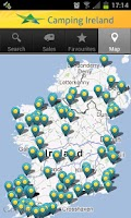 Screenshot of Camping Ireland