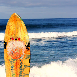 Pacific Surf by Jody Frankel - Sports & Fitness Surfing