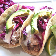 ... Of The Day. [tequila-lime Mahi Mahi Tacos W. Honey-lime Sour Cream