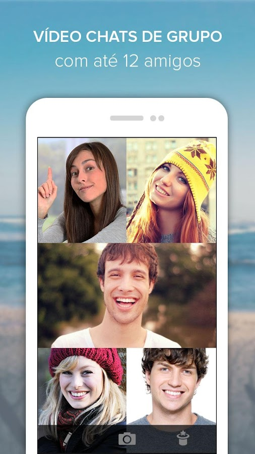 Rounds Video Chat, Texto, Voz: captura de tela