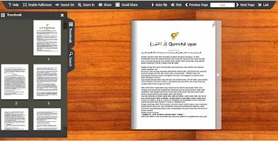 Screenshot of Qurotul Uyun Indonesia