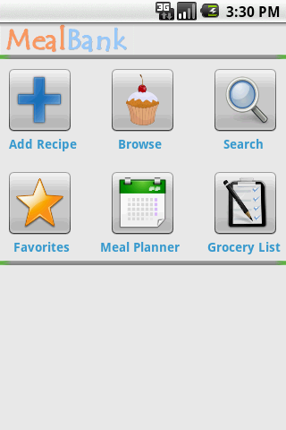 MealBank - Recipes to Grocery