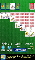 Screenshot of Solitario Español