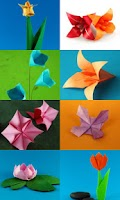 Screenshot of Origami Flowers