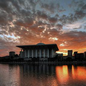 Sultan Mizan Mosque by Sham ClickAddict - Landscapes Sunsets & Sunrises