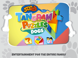 Screenshot of Kids Tangram Puzzles: Dogs