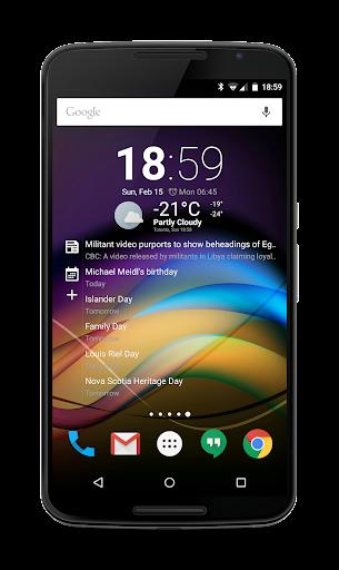 Chronus: Home & Lock Widget - screenshot