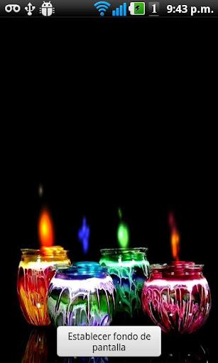 【免費個人化App】蠟燭顏色壁紙直播-APP點子