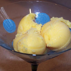 Delicious Orange Sherbet (No Ice Cream Machine)