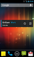 Screenshot of CircleAlarm (Holo Alarm Clock)