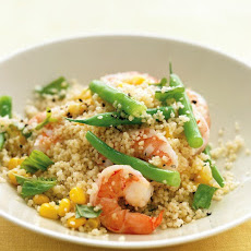 Shrimp with Whole-Wheat Couscous