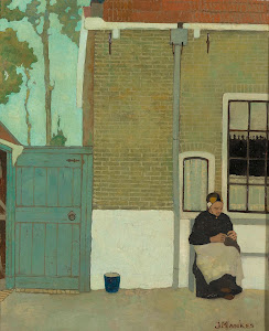 RIJKS: Jan Mankes: painting 1914