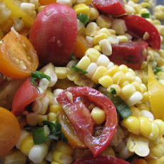 Gardener's Sweet Corn and Cherry Tomato Salad