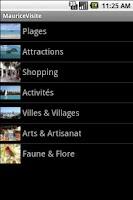 Screenshot of Guide de Voyage : Ile Maurice
