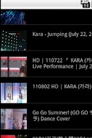 Screenshot of Kara Photo Youtube (KPOP)