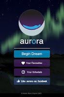 Screenshot of Aurora Dreams Sleeping Sounds