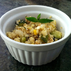 Quinoa Salad with Grilled Corn