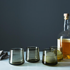 Hand Blown Whiskey Glass