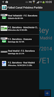 Screenshot of Football Channel Next Match TV