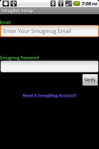 smugbot for android screenshot