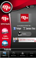 Screenshot of MFM Radio