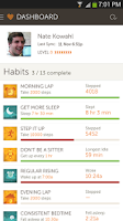 Screenshot of Basis Fitness & Sleep Tracker