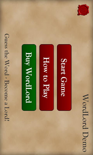 WordLord Demo Free