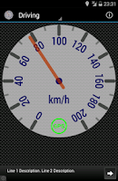 Screenshot of Speedometer