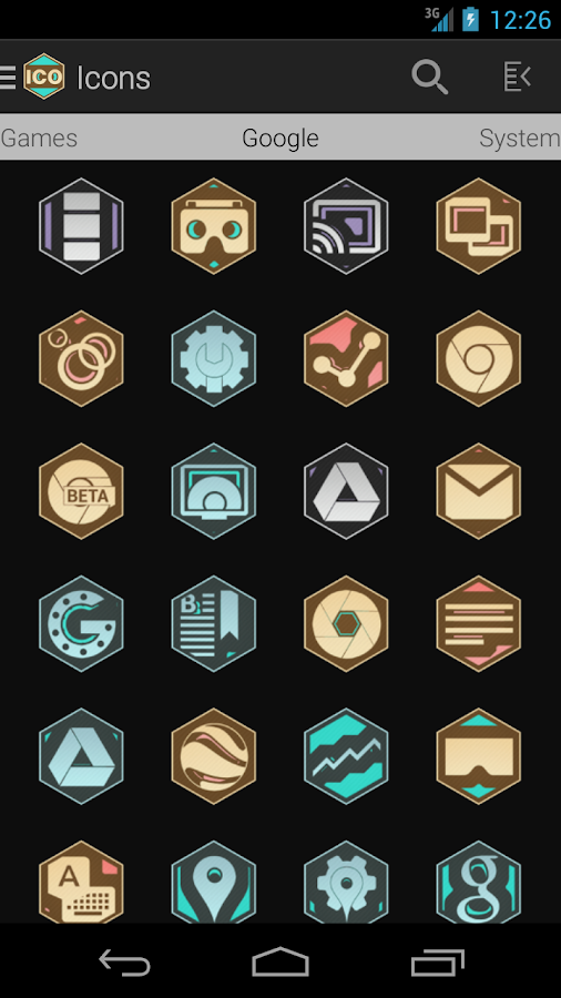 Tha Medal - Icon Pack Screenshot 1