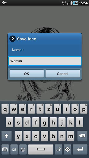 FlashFace Woman police tool - screenshot