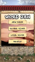 Screenshot of Word Zen