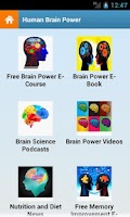 Screenshot of Human Brain Power!