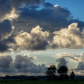 Clouds lit from within by Mike Bing - Landscapes Cloud Formations ( noord-holland, holland, petten, camperduin, netherlands )