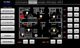 Screenshot of homeVisu Community Edition