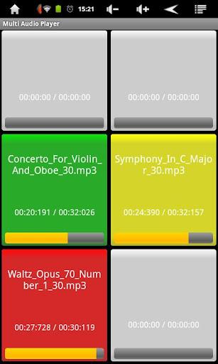Multi Audio Player