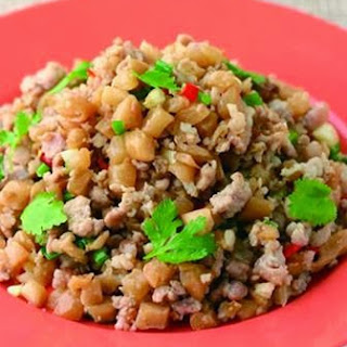 Dried Radish Fried Minced Meat