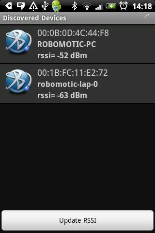 Bluetooth RSSI Pro