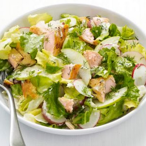 Arctic Char Salad with Apples