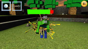 Screenshot of Zombie Kicker