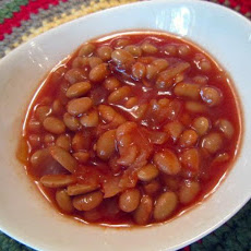 Maple Baked Beans (Crockpot)