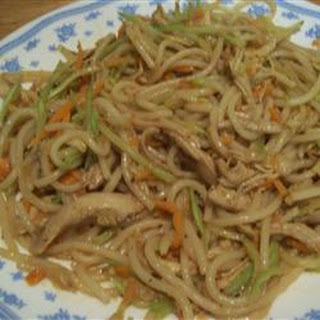 Turkey Lo Mein