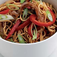 Beef Stir Fry With Noodles And Oyster Sauce